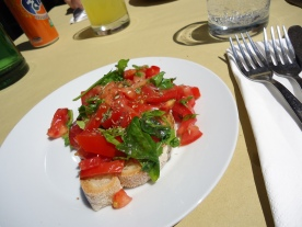 Bruschetta in Ostiense