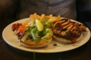 World's End Pub, Edinburgh: William Wallace Burger