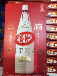 Kit Kat mit Sake-Geschmack